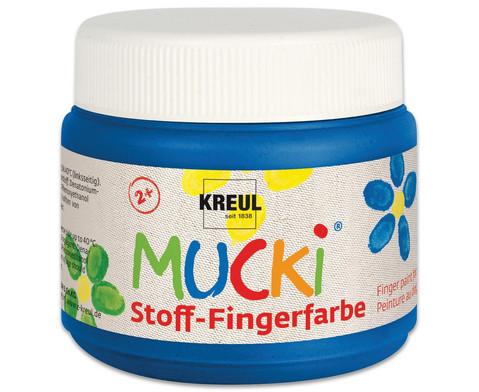 MUCKI Stoff-Fingerfarbe 4er Set-6