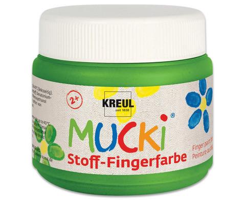 MUCKI Stoff-Fingerfarbe 4er Set-7