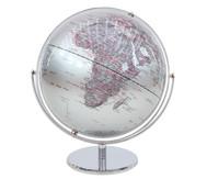Globus Juri silver, Höhe 36 cm, Durchmesser 30 cm