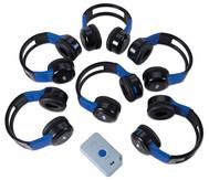 Digitale Audio Kopfhörer im Klassenset