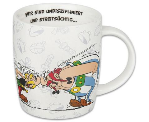 Kaffeebecher Asterix aber wir lieben-2
