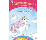 Glitzerzauber - Malblock Zauberponys
