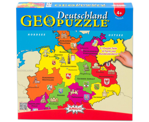 GeoPuzzle Deutschland