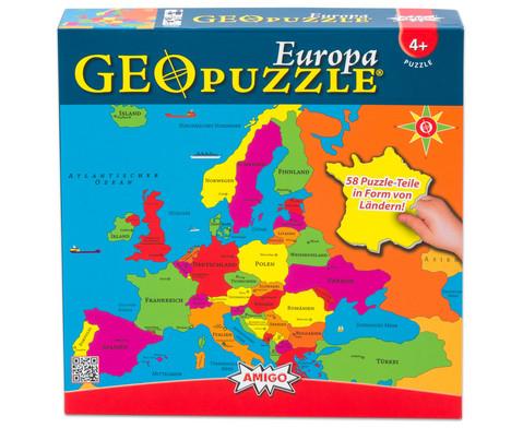 GeoPuzzle Europa
