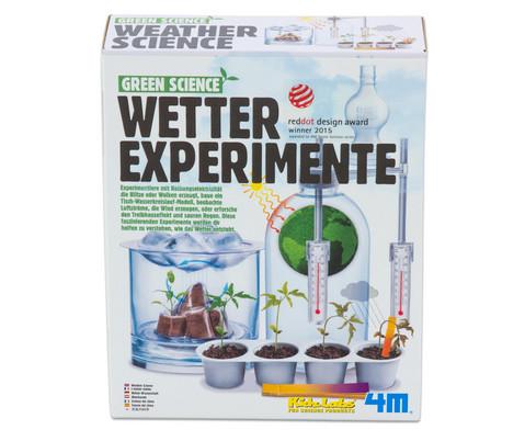 Wetter Experimente - Bausatz-4