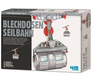 Blechdosen Seilbahn - Bausatz
