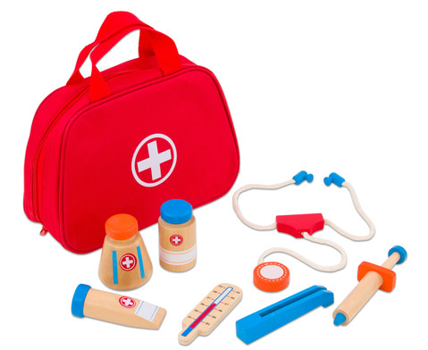Arzttasche mit Zubehoer 11-tlg