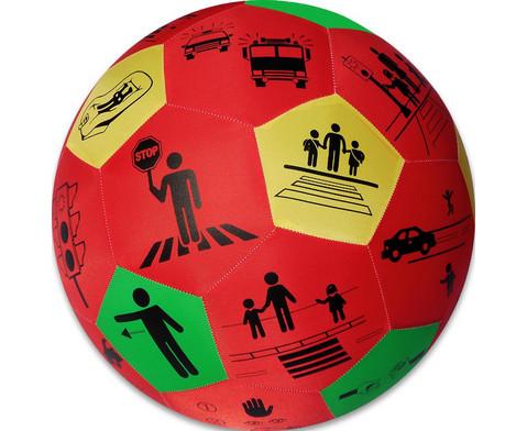 Lernspielball Verkehrserziehung