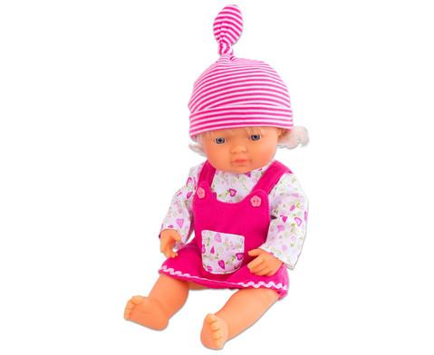Puppenkleid mit Muetze 38 cm-3