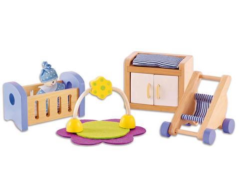 Puppenhaus Babyzimmer-1