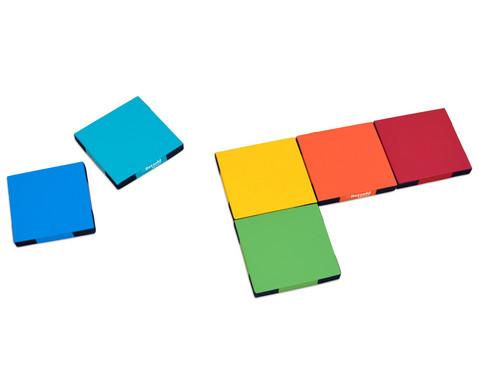 Regenbogen-Matten-Set 6 Stueck-5