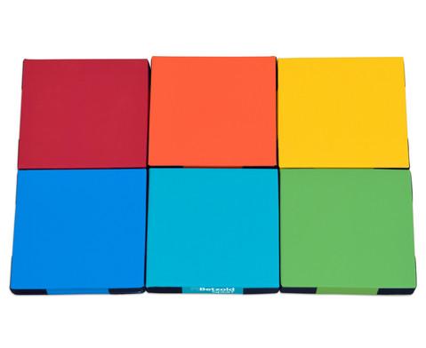 Regenbogen-Matten-Set 6 Stueck-8