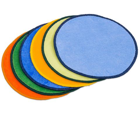 Teppichset Bunte Kreise 6 Stueck