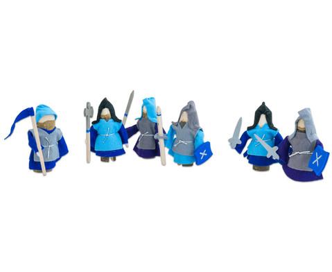 Ritter 6er-Set blau-2