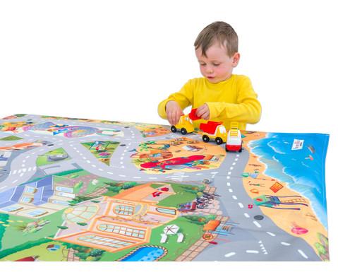 Spiel-Tischdecke Kuestenlandschaft-4
