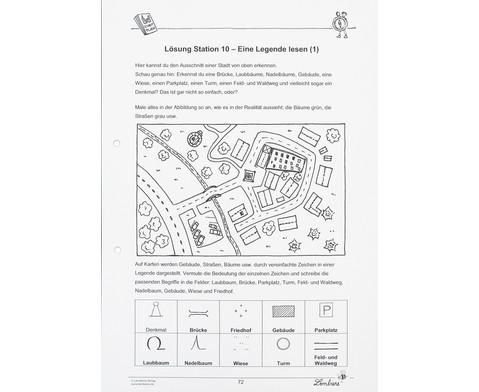 Lernwerkstatt Gut orientiert mit Kompass und Karte-11