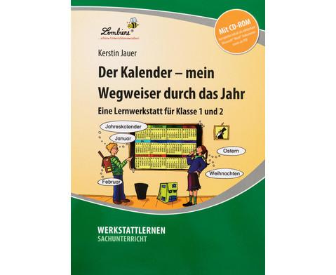 Lernwerkstatt Der Kalender - mein Wegweiser durchs Jahr-6