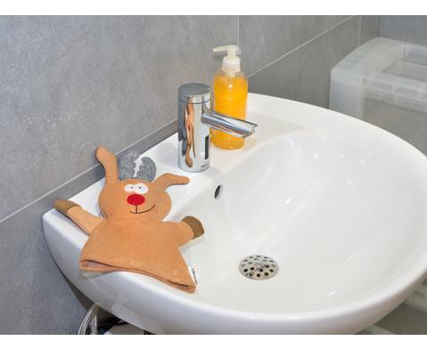 Waschhandschuh Elch-4