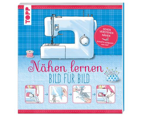 Buch Naehen lernen - Bild fuer Bild