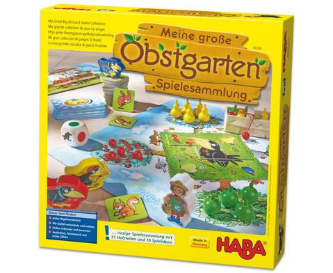 Spielesammlung Obstgarten