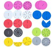 Bruchrechenkreise für bewegten Unterricht