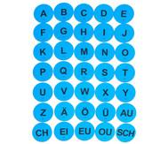 Buchstabenkreise für bewegten Unterricht