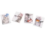Notizblock Kätzchen, 4 Stück im Set, Überraschungsmotive