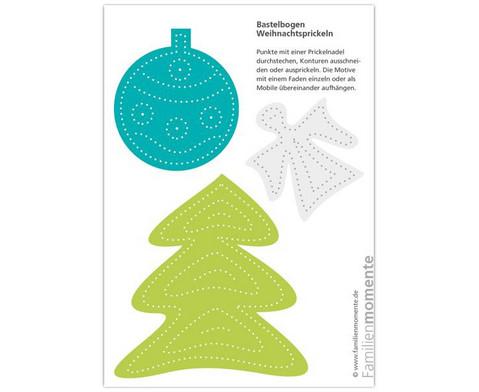 Prickelmotive Weihnachten 10 Stueck-3
