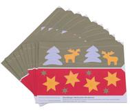 Prickel-Windlichter Weihnachten, 10 Stück