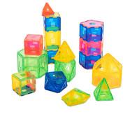 Xeo Kleines Klassenset mit 198 Bauteilen, transparent