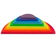 Großes Regenbogen-Halbkreise Bauset
