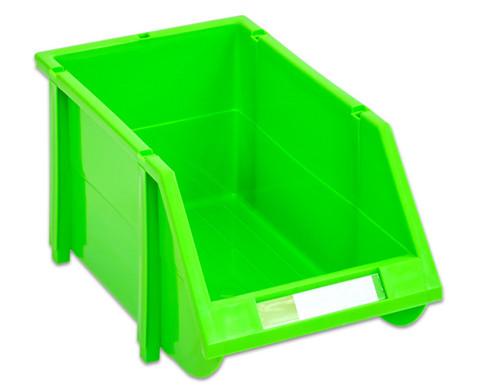 Stapelbox Set mit 9 Stueck - gruen klein-5