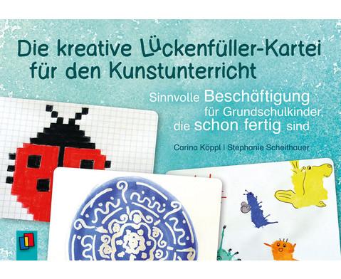 Die kreative Lueckenfueller-Kartei fuer den Kunstunterricht