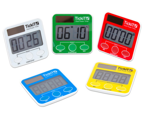 Dual Power Timer Set mit 5 Stueck
