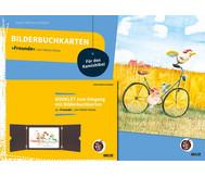 """Bilderbuchkarten """"Freunde"""" von Helme Heine"""