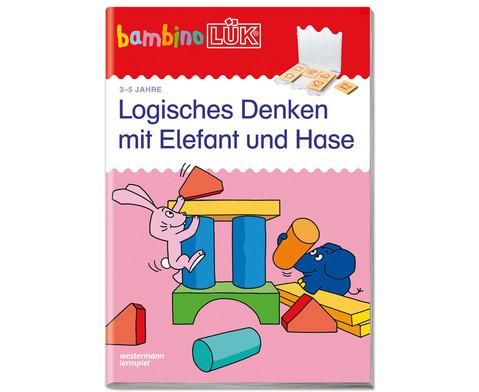 bambinoLUEK - Logisches Denken mit Elefant und Hase