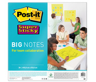 Post-it Big notes neongrün