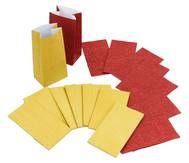 Papiertüten mit Blockboden, 8 Stück