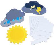 Magnetisches Verhaltens-Wetter mit Namensschildern