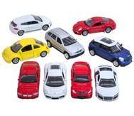 9 verschiedene Modellautos, 1:60