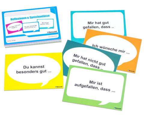 Betzold Karten zur Reflexion und fuer Sprechanlaesse