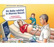 Bildkarten: Ein Baby wächst in Mamas Bauch