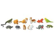 Haustiere, Figuren Set 12-teilig