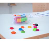 Betzold Magnete, 80 Stück im Set, mehrfarbig