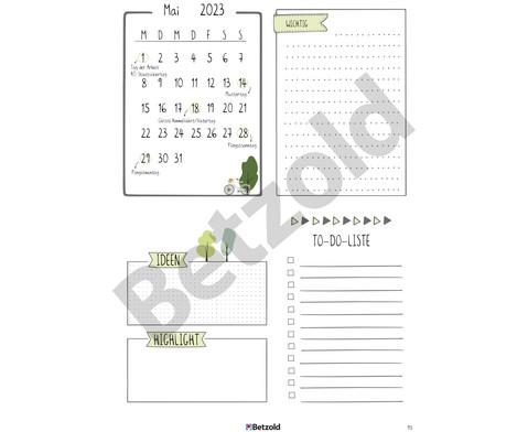 Betzold Design-Schulplaner 2018-2019 Hardcover-7