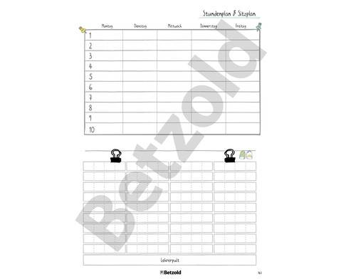 Betzold Design-Schulplaner 2018-2019 Ringbuch-13