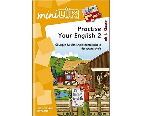miniLUEK Practise Your English 2-1