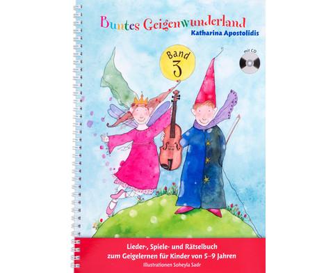 Buntes Geigenwunderland Band 3-1