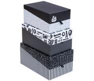 Aufbewahrungsboxen, 3 Stück im Set