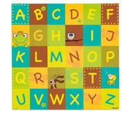 Spielplane - ABC, 75 x 75 cm